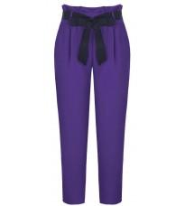 Фиолетовые брюки с поясом RINASCIMENTO 87691