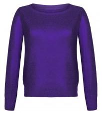 Фиолетовый джемпер с напылением RINASCIMENTO 8807
