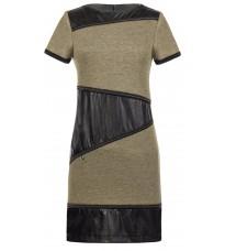 Стильное бежевое платье RINASCIMENTO 88079