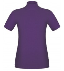 Фиолетовый джемпер с короткими рукавами RINASCIMENTO 8836