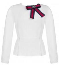 Белая блуза с декором RINASCIMENTO 15544