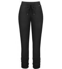 Черные брюки с контрастной вставкой RINASCIMENTO 89783