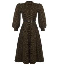 Платье с узором RINASCIMENTO 89839