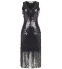Черное платье с пайетками RINASCIMENTO 89967