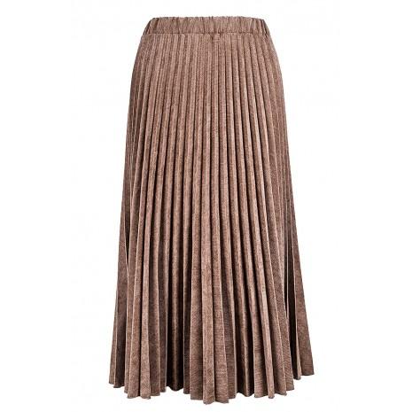 Бежевая плиссированная юбка RINASCIMENTO 90123