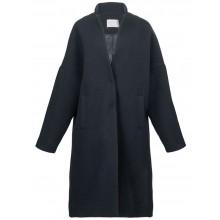 Черное прямое пальто RINASCIMENTO 89336