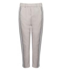 Бежевые брюки с контрастными вставками RINASCIMENTO 86163