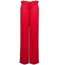 Широкие красные брюки RINASCIMENTO 86805