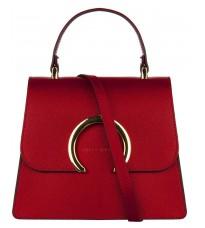 Кожаная красная сумка RINASCIMENTO 11977