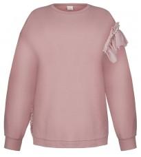 Розовая толстовка с декором RINASCIMENTO 90886