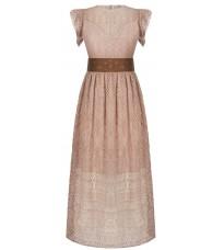 Розовое кружевное платье RINASCIMENTO 91231