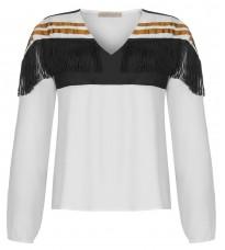 Блуза с бахромой RINASCIMENTO 91446