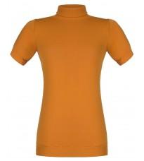 Оранжевый джемпер с короткими рукавами RINASCIMENTO 9149