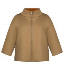 Бежевое укороченное пальто RINASCIMENTO 91527