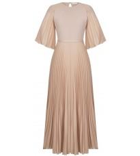 Розовое платье с поясом RINASCIMENTO 91634