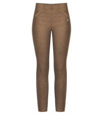 Укороченные коричневые брюки RINASCIMENTO 88343