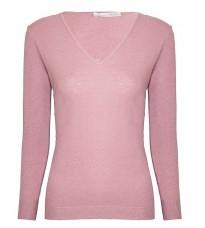 Розовый базовый джемпер RINASCIMENTO 9031