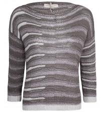 Стильный серый джемпер RINASCIMENTO 9102