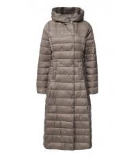 Длинное стеганное пальто RINASCIMENTO 75159