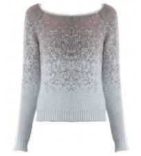 Стильный голубой свитер RINASCIMENTO 8426