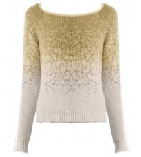 Стильный белый свитер RINASCIMENTO 8426