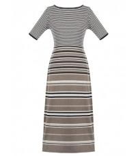 Длинное платье в полоску RINASCIMENTO 7777