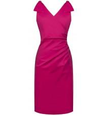 Яркое платье с открытыми плечами RINASCIMENTO 86881