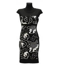 Платье с ярким рисунком RINASCIMENTO 73205