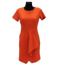 Оригинальное платье с объемной складкой спереди RINASCIMENTO 72632