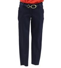 Стильные темно-синие брюки с поясом RINASCIMENTO 72656