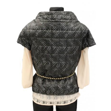 Куртка RINASCIMENTO с золотым поясом 72803