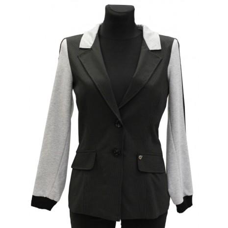 Пиджак RINASCIMENTO с полосками на рукавах 73221