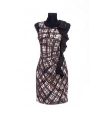 Стильное платье с рюшами RINASCIMENTO 69755