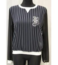 Брендовая блуза в полосочку Rinascimento 11521