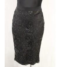 Черная юбка-карандаш Rinascimento Осень 2105