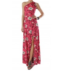 Розовое платье с цветочным принтом RINASCIMENTO 14998