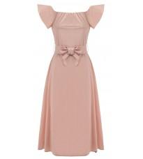 Розовое платье с бантом RINASCIMENTO 80872