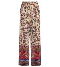 Легкие брюки с флористическим принтом RINASCIMENTO 80948