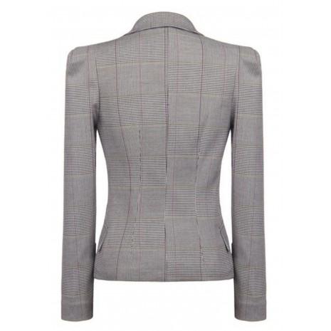 Серый приталенный пиджак RINASCIMENTO 82369