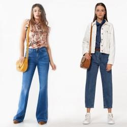 Синие джинсы с поясом RINASCIMENTO 102232